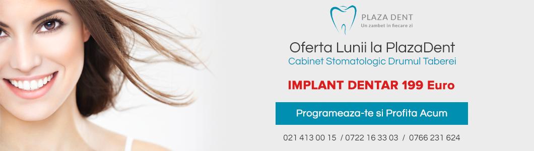 Implanturi dentare in sector 6